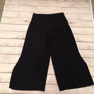 Zara Basic Black Culottes (xs)